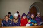 Familienkreuzweg mit Kindern aus der 2. Klasse - 13. März 2013