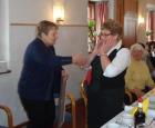 Ehrung von Resi Steiner für 50 Jahre aktive Mitgliedschaft bei der Kath. Frauenschaft Piesendorf - 17. Jänner 2013