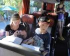 ... die Stimmung im Bus war absolut spitze ...