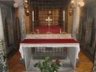... das Grab des Hl. Laurentius mit seinen Reliquien