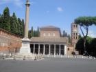 Wir besuchten natürlich auch den Hl. Laurentius, unseren Pfarrpatron, in der Basilika San Lorenzo vor den Mauern ...
