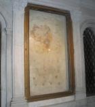 ... der Steinrost, auf dem Laurentius hingerichtet wurde ...