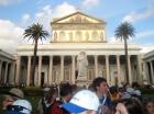 ... vor der Basilika ging dann das Fest weiter ...