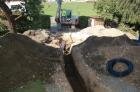 Auf der Suche nach den alten Wasserleitungen