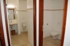 Die neuen, barrierefreien WC-Anlagen im Erdgeschoß