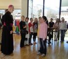 Schulvisitation mit Weihbischof Andreas Laun - 8. April 2010