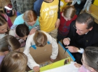 Haiti / Chile Spendenaktion mit der 4.B - 28. März 2010